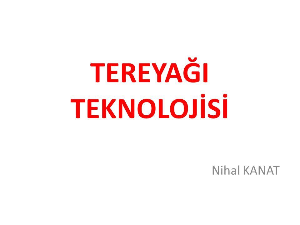 Tereyağı 1.1 Tanımlar Türk Gıda Kodeksinin Tereyağı, Diğer Süt Yağı Esaslı Sürülebilir Ürünler ve Sadeyağ tebliğinde tanımlanmış şekli ile tereyağı; ağırlıkça en az %80, en fazla %90 oranında süt yağı, en fazla %2 oranında yağsız süt kurumaddesi ve en fazla %16 oranında su içeriğine sahip olan ve Türk Gıda Kodeksi Yönetmeliğinde izin verilen katkı maddelerinin kullanabildiği bir süt ürünüdür.