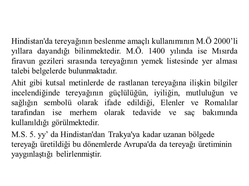 Türkiyede tereyağı üretimi;