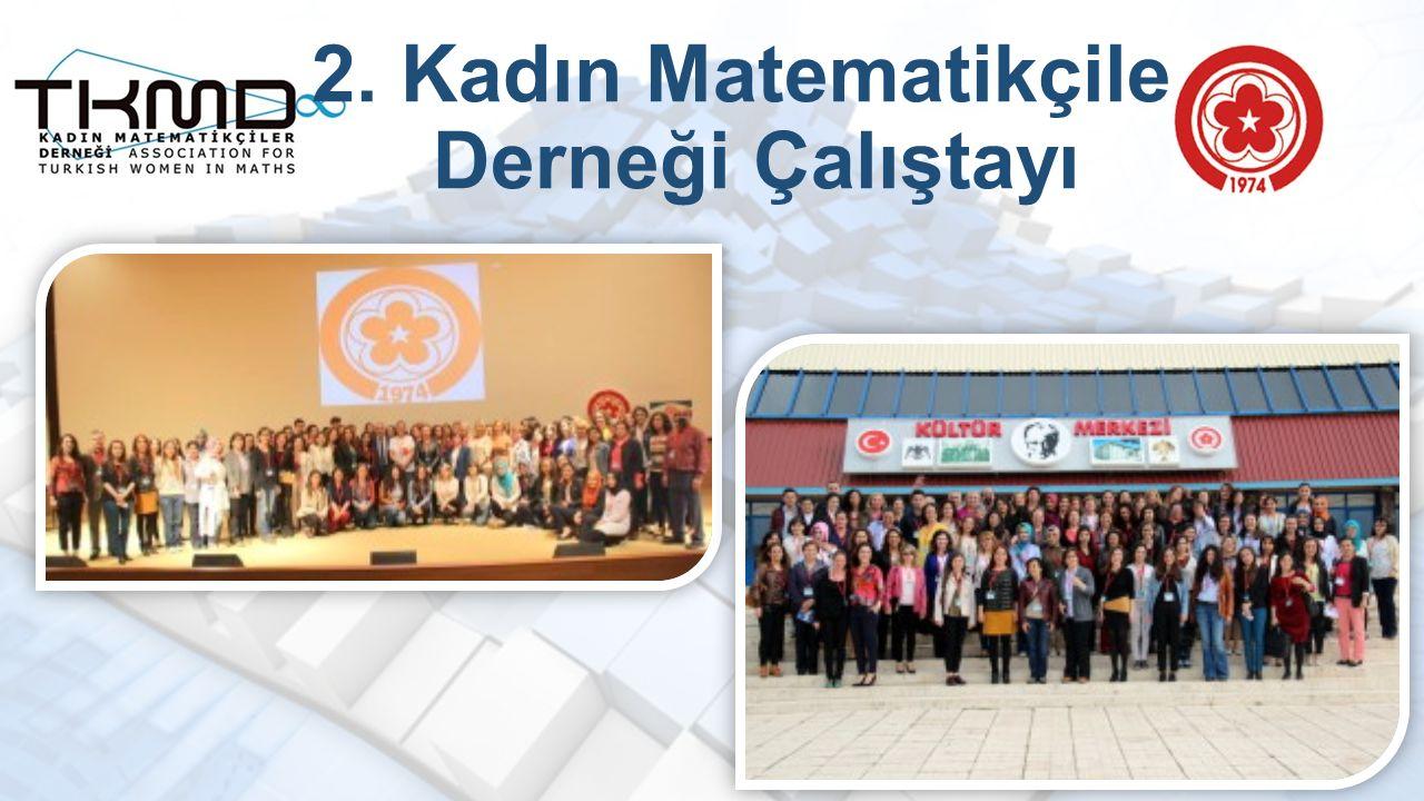2. Kadın Matematikçiler Derneği Çalıştayı