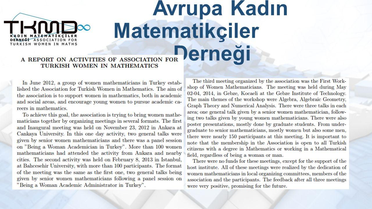 Avrupa Kadın Matematikçiler Derneği