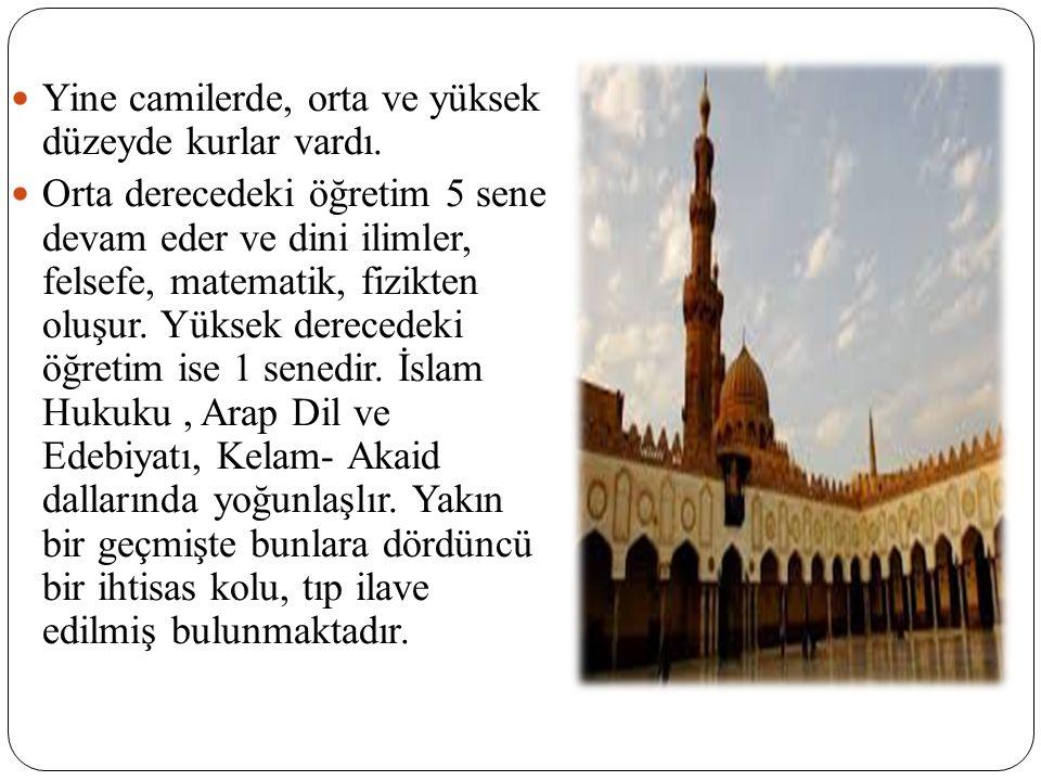 MEDRESE DÖNEMİ Medrese kelimesinin IX.