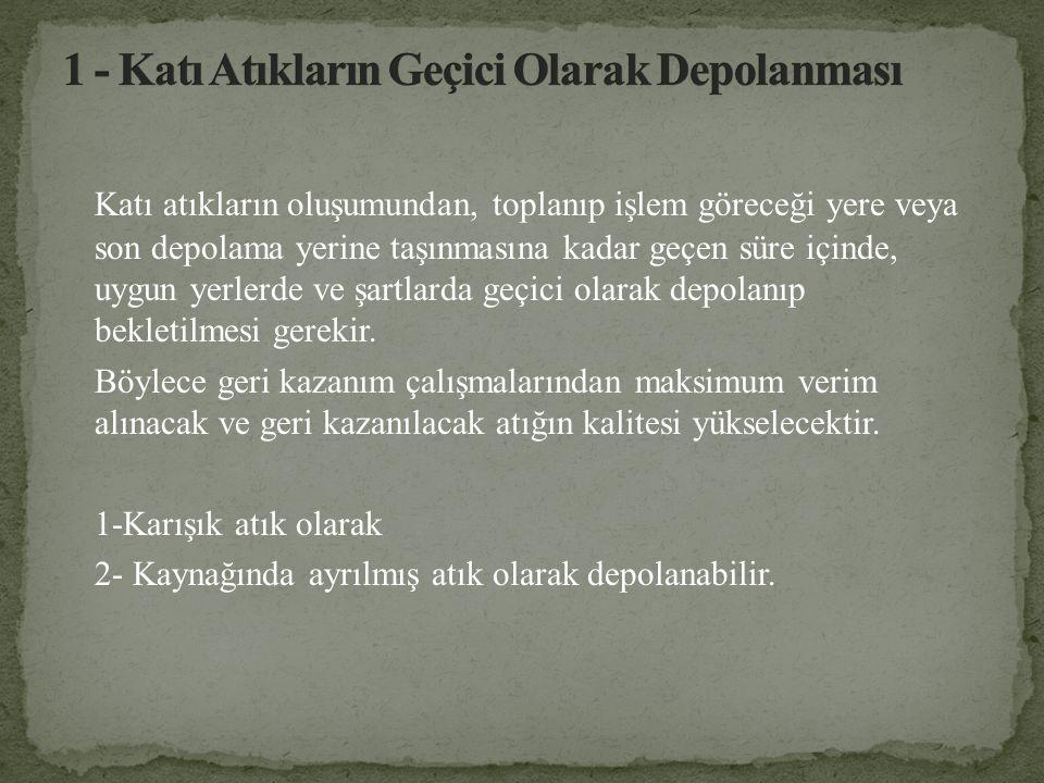 SABİT KONTEYNIR SİSTEMİ (SKS) ŞEMASI