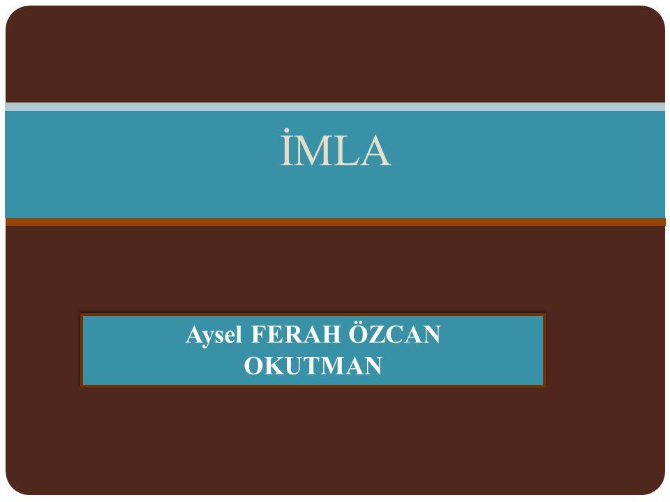 ı)Dil adları: *Türkçeye,Arapça ve Farsçadan pek çok kelime girmiştir.