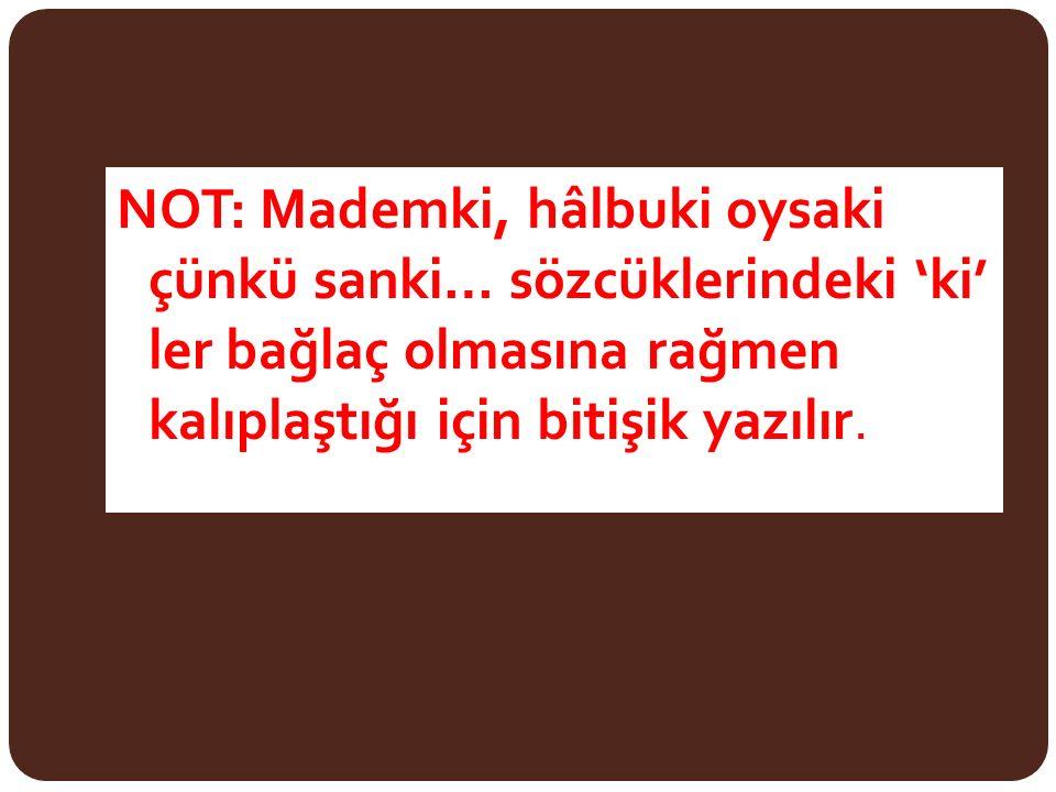 """"""" Ünsüz düşmesi görülen kelimeler: Türkçede ikiz ünsüz bulunmaz."""