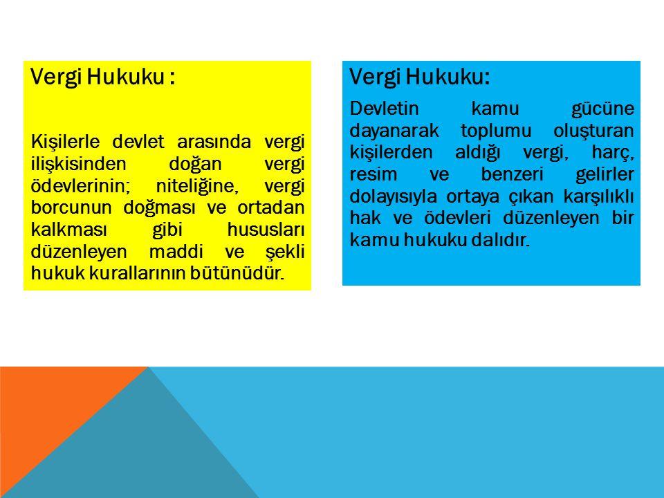 3.Kanuni Temsilcilerin Sorumluluğu : Kanuni temsilcinin sorumlulukları VUK.da düzenlenmiştir.