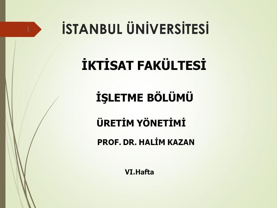 İleri Araştırma Teknikleri VE SPSS UYGULAMALARI Prof Dr Halim Kazan İstanbul Üniversitesi İktisat Fakültesi İşletme Bölümü Başkanı