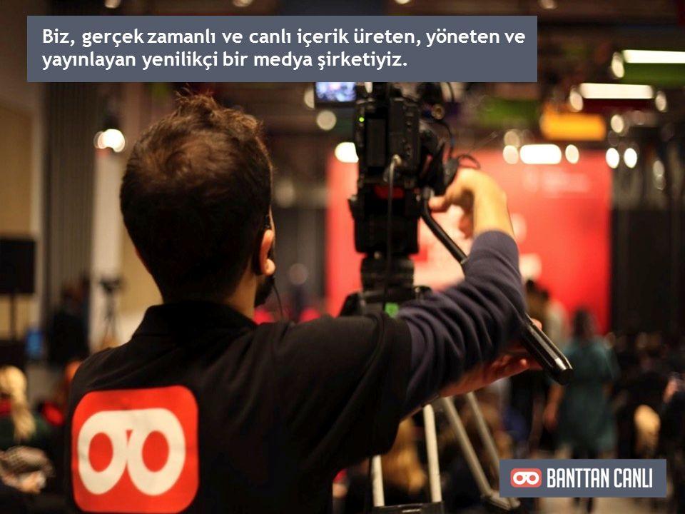 İzleyicilerin yayına farklı mecra ve kanallardan eş zamanlı olarak ulaşabilmesini sağlıyoruz.