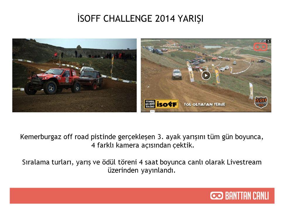 İSOFF CHALLENGE 2014 YARIŞI Kemerburgaz off road pistinde gerçekleşen 3.