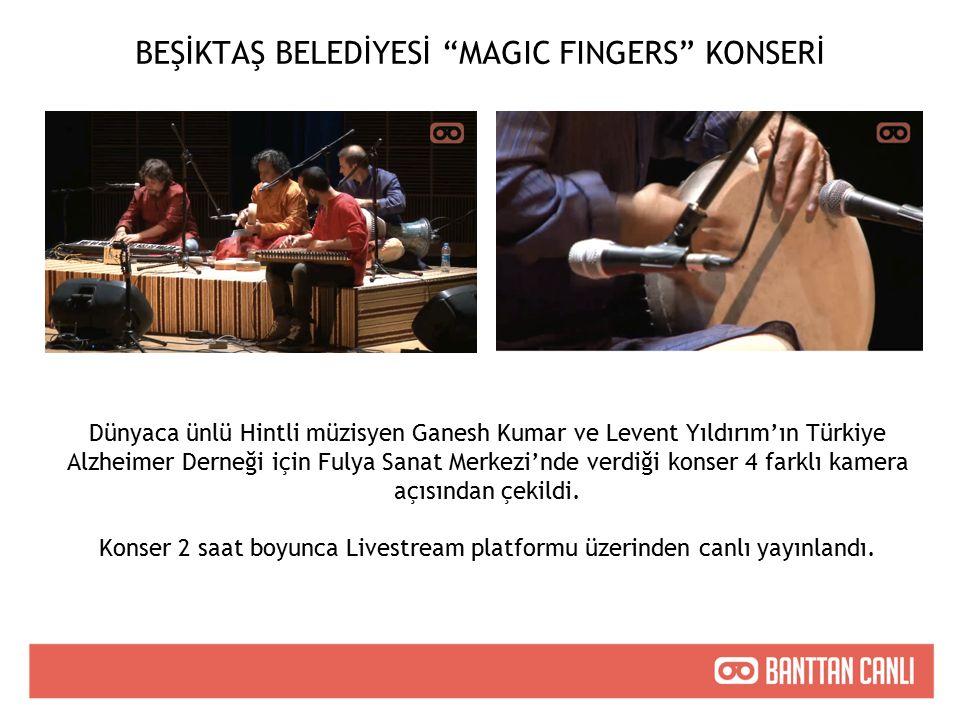 Dünyaca ünlü Hintli müzisyen Ganesh Kumar ve Levent Yıldırım'ın Türkiye Alzheimer Derneği için Fulya Sanat Merkezi'nde verdiği konser 4 farklı kamera açısından çekildi.