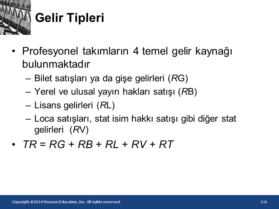 Copyright ©2014 Pearson Education, Inc. All rights reserved.3-19 Figure 3.4 Şekil 3.2