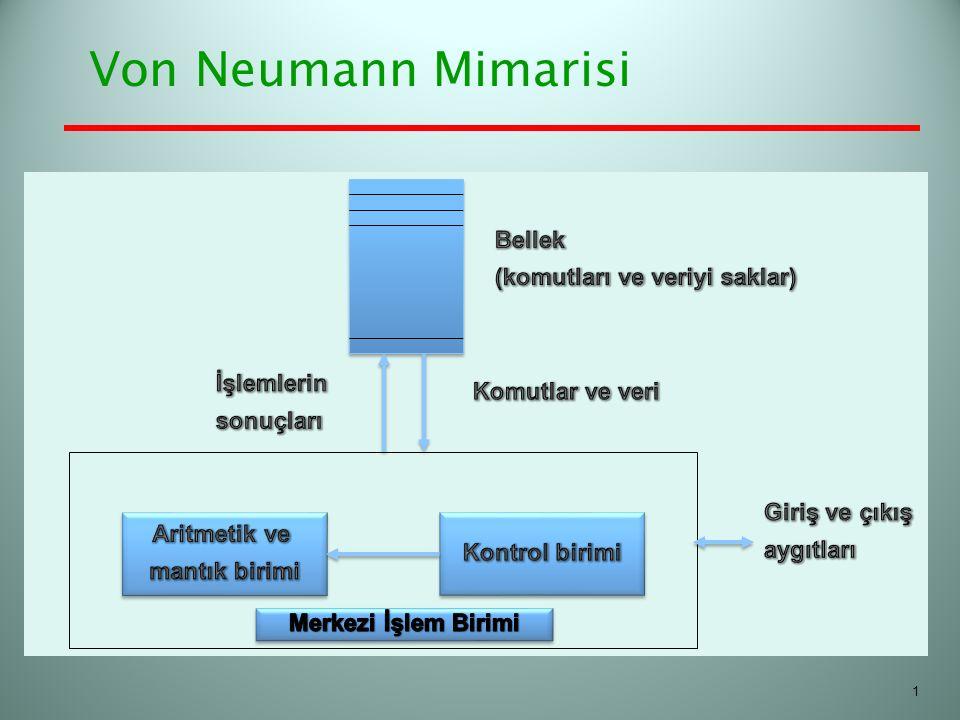 Von Neumann Mimarisi 1