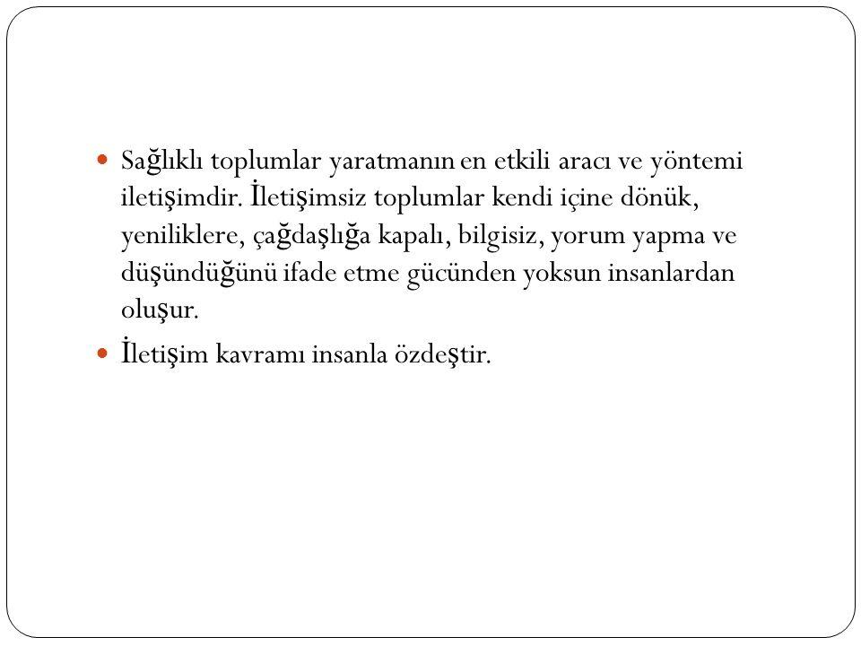İ leti ş im ve Kültür İ leti ş im ve Dil