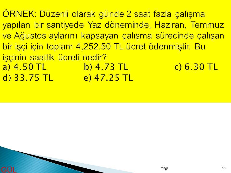 fthgl18 GÜL