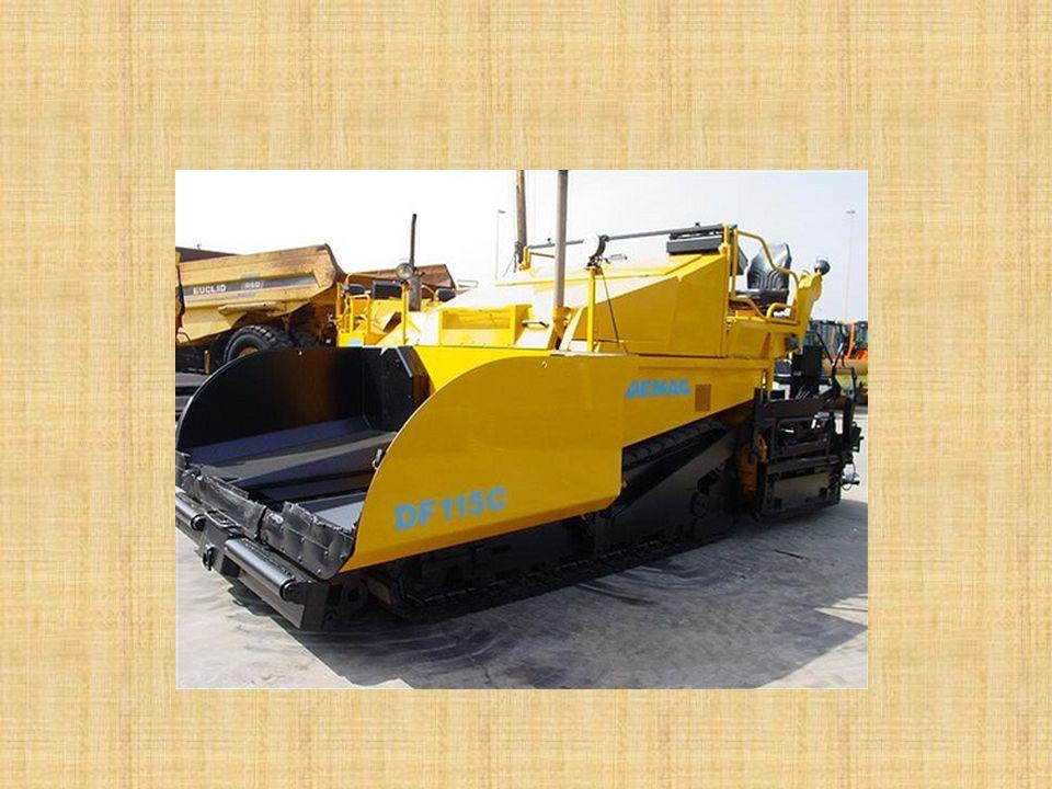 İŞ MAKİNELERİ Asfalt ve Beton Üretim, Taşıma ve Serme Makineleri: Asfalt ve beton için gerekli malzemeyi hazırlayan, mamul hale getiren tesisler ile m