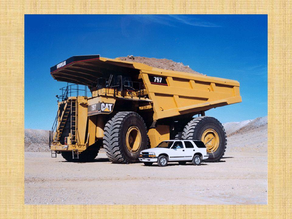 İŞ MAKİNELERİ Yol Dışı Nakliye Makinaları : Maden ocaklarında, dekapaj işlerinde, baraj ve yol inşaatlarında, havaalanı ve liman yapımında, her çeşit