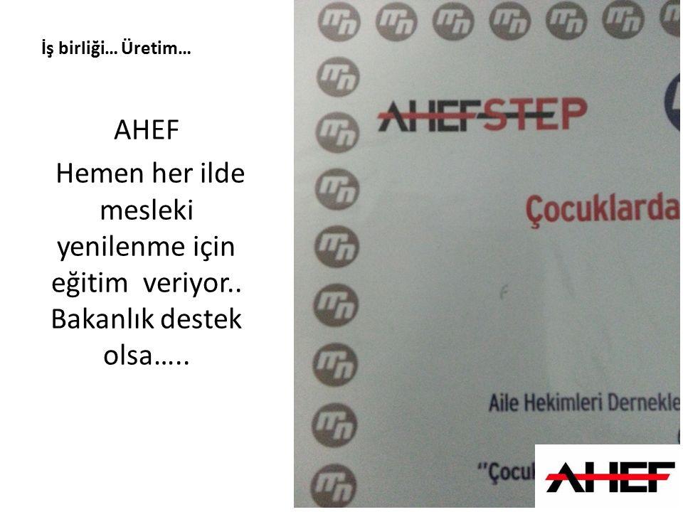 Diayalog-işbirliği-Haber AHEF sivil mevzuat çalışmaları yapıyor.