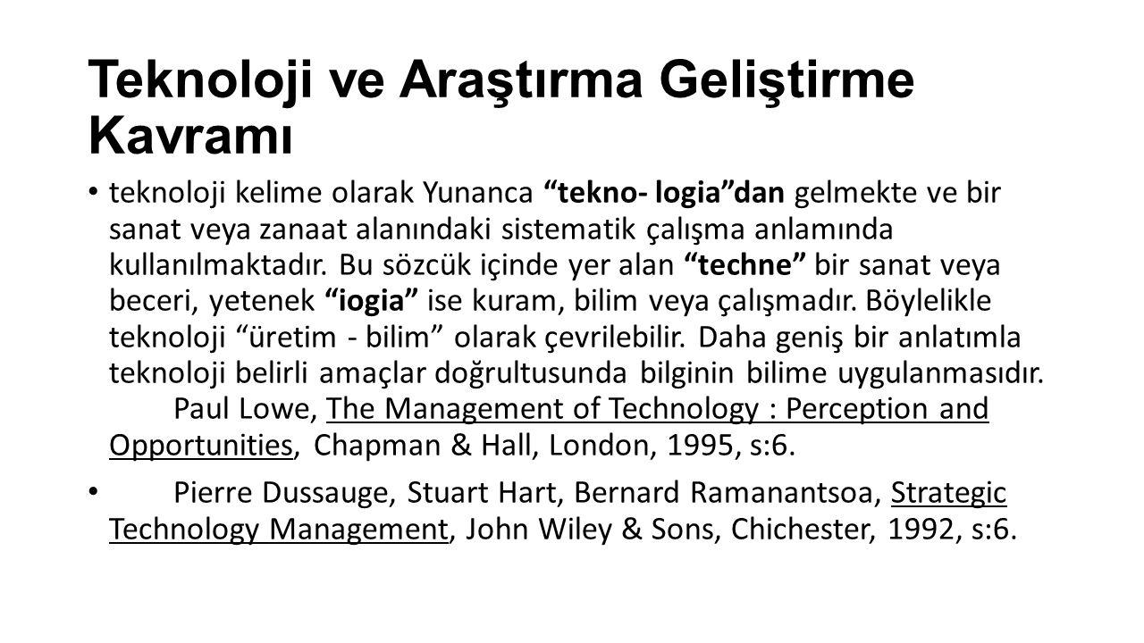 """teknoloji kelime olarak Yunanca """"tekno- logia""""dan gelmekte ve bir sanat veya zanaat alanındaki sistematik çalışma anlamında kullanılmaktadır. Bu sözc"""