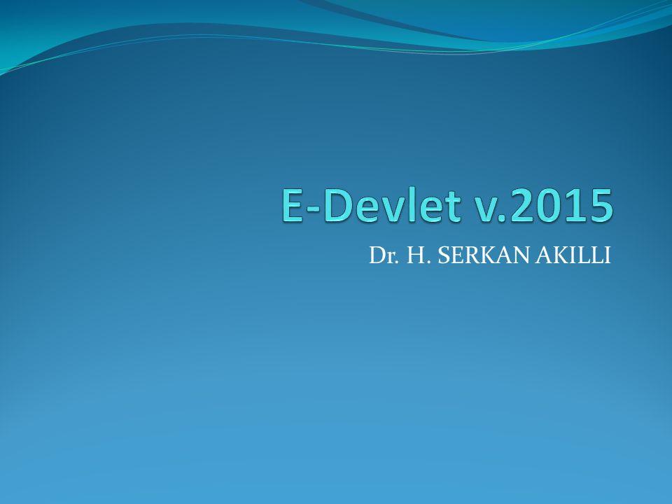 Dr. H. SERKAN AKILLI