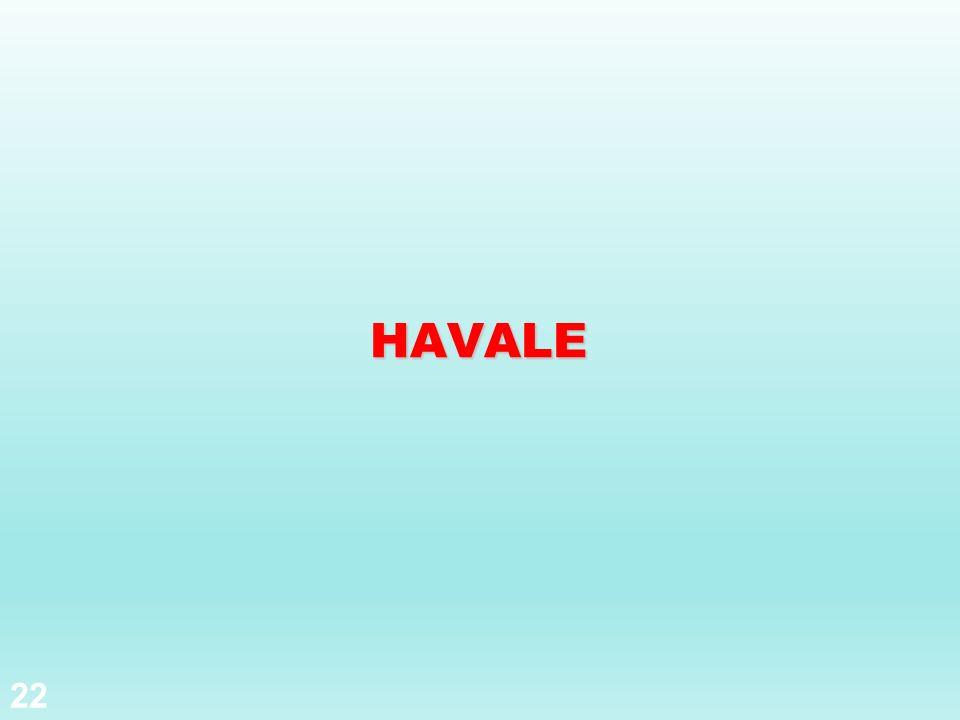 HAVALE 22