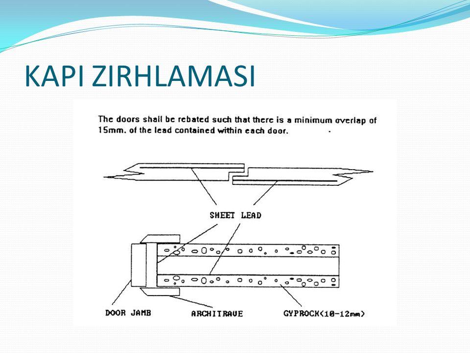 X-ışınlı sistemler,değişik boyutlarda ve ağırlıklarda birden fazla donanım ve parçadan oluşmaktadır.