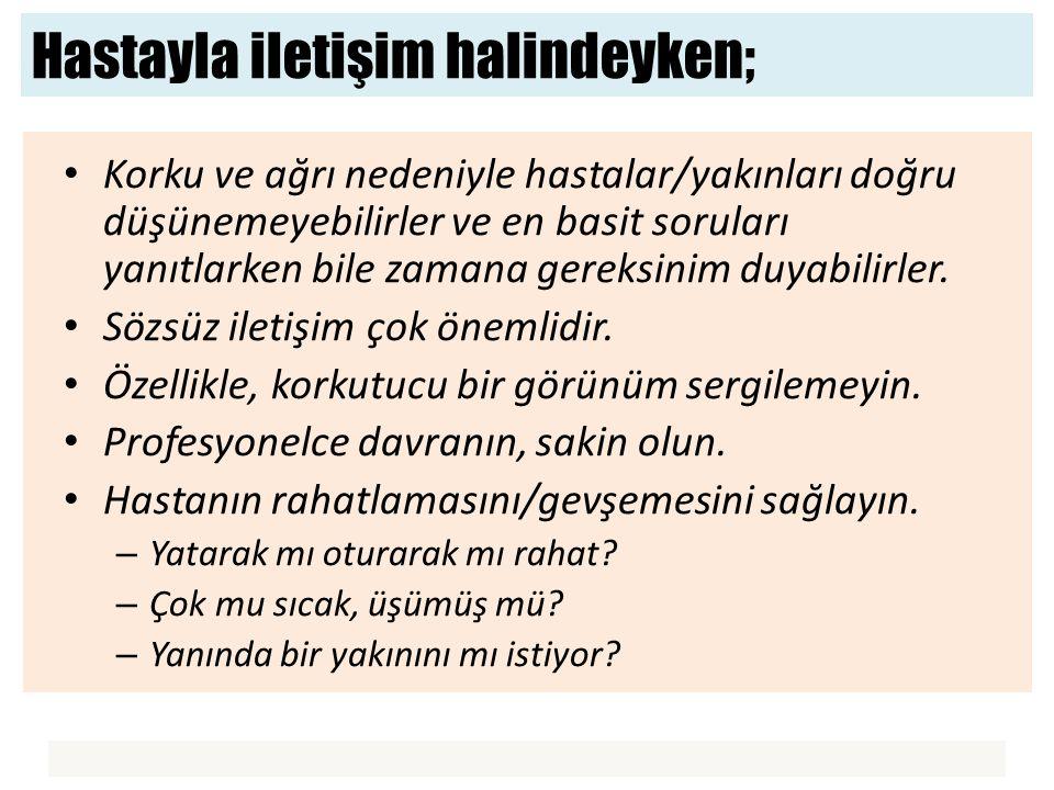 Etkili iletişim için; Bireye ismi ile hitap edin; Ali Bey, Ayşe Hanım vs.