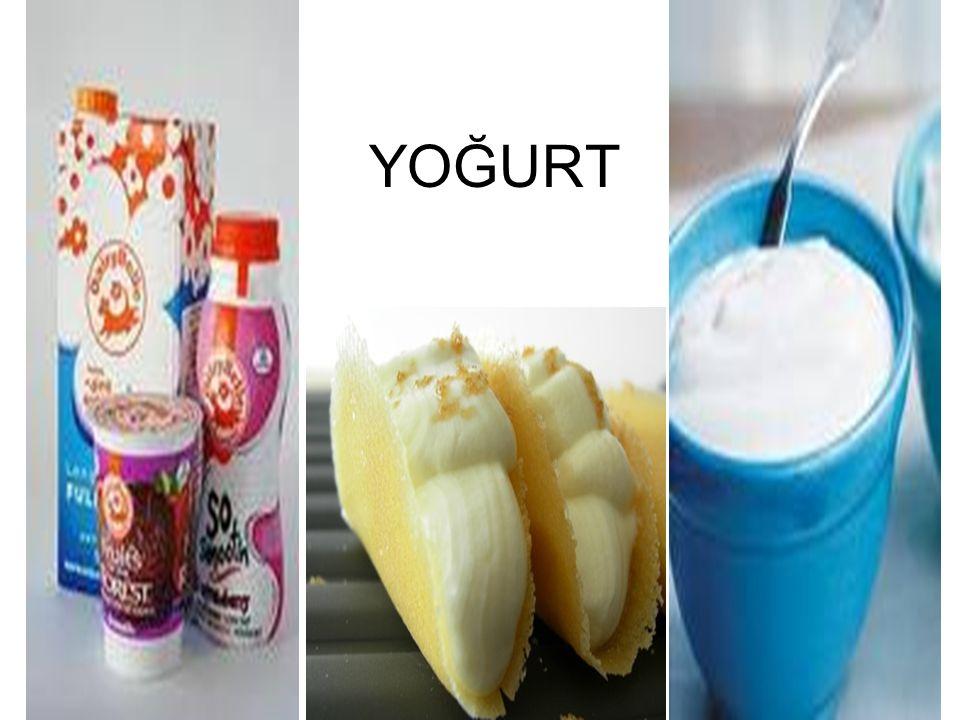 Yoğurdun Tanımı Türk Gıda Kodeksi'ne göre yoğurt Lactobacillus delbrueckii subsp.
