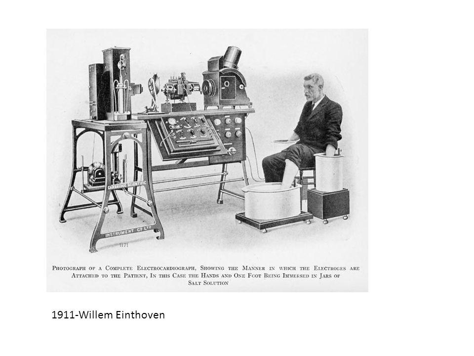 1911-Willem Einthoven