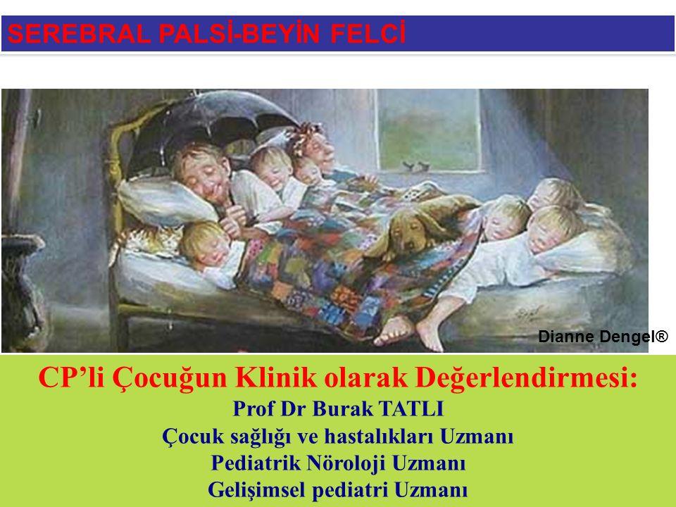 2734 İstanbul Tıp Fakültesi, Çocuk sağlığı ve Hastalıkları ABD, Çocuk nörolojisi polikliniğinde 1995-2004 yılları arasında, SP tanımına uyan 'immatür beyindeki lezyonlara ikincil olarak gelişen; değişik şiddette tonus, postur ve hareket bozukluklarını içeren, ilerleyici olmayan motor bir hastalıktır' 2734 (1256 e,1478 k) hastanın dosya bilgileri incelendi.