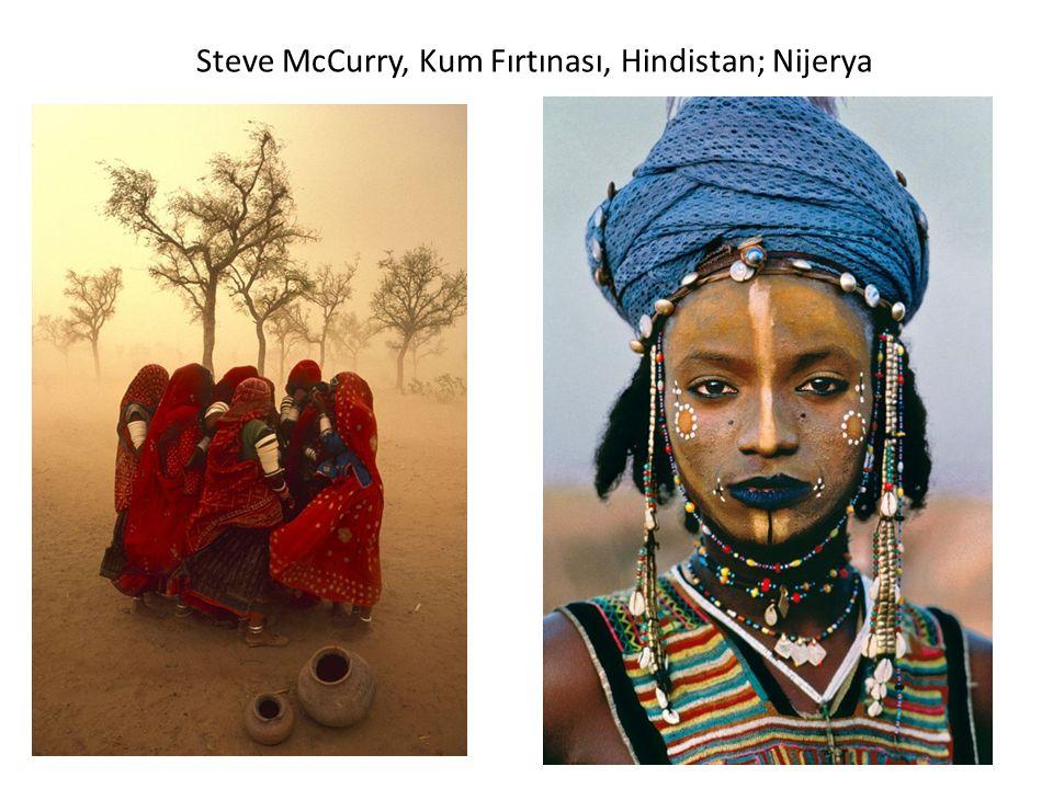 Steve McCurry, Kum Fırtınası, Hindistan; Nijerya
