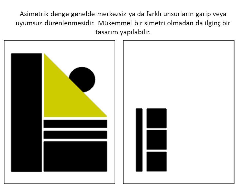 5-Vurgulama Hangi görsel unsuru (başlık, metin, fotoğraf vb) vurgulayacaksak önceden karar verip ona göre boyut büyütme koyu ton ya da canlı renk kullanımı gibi vurgulama yöntemlerini denemelidir.