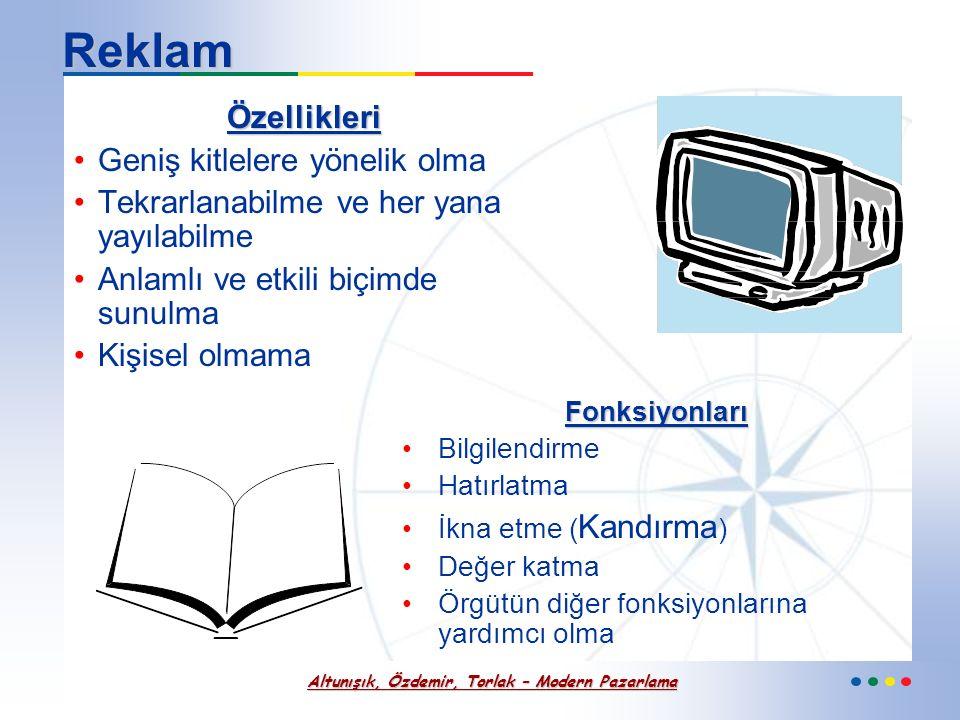 Altunışık, Özdemir, Torlak – Modern Pazarlama Tutundurma Karması Kararları ve Dağıtım Politikası İlişkisi