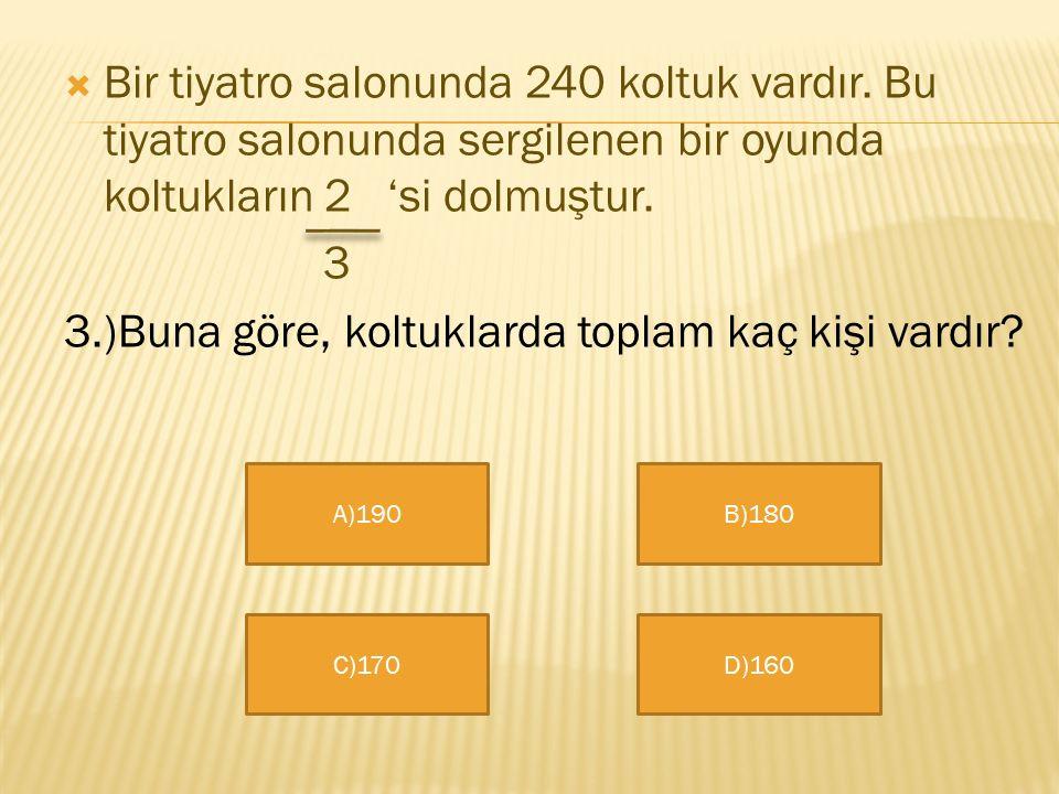  Bekir Sami Dedeoğlu İlköğretim Okulu  4/A Sınıfı  Bir Çokluğun Kesir Kadarını Bulma  Bu slaydı Kaan Bora Karapınar Hazırlamıştır.