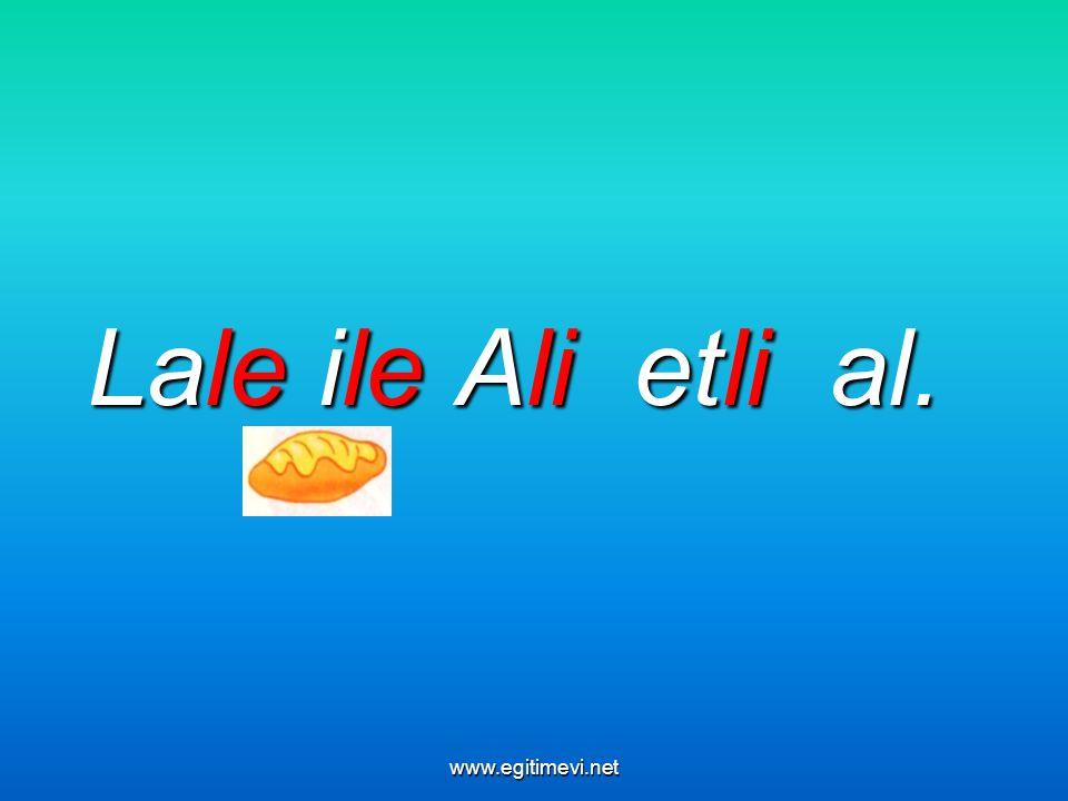 Lale ile Ali etli al. www.egitimevi.net