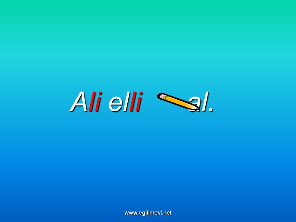 Ali elli al. www.egitimevi.net