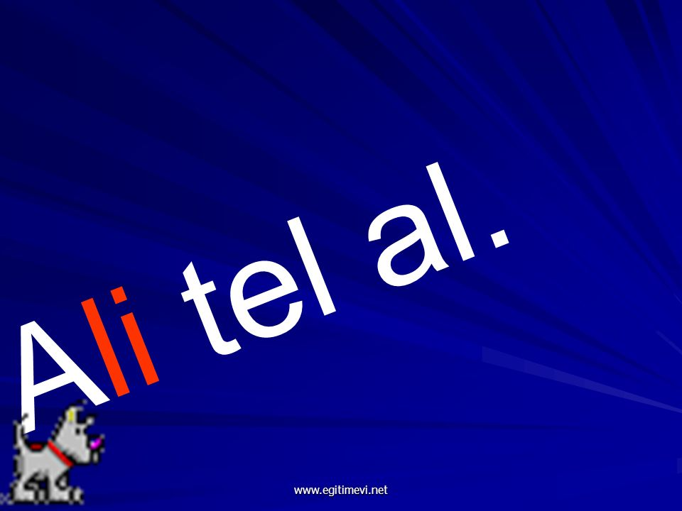 Ali tel al. www.egitimevi.net