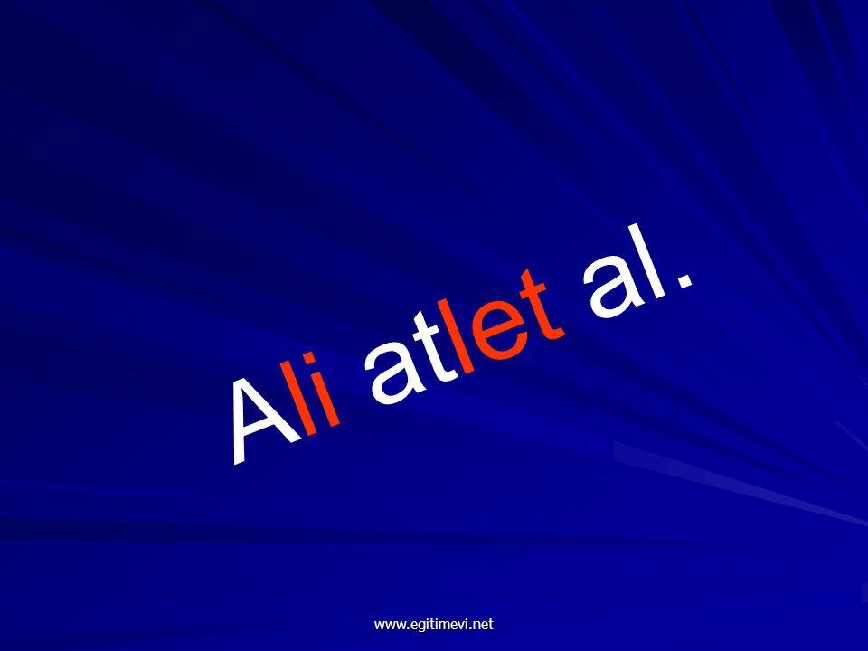 Ali atlet al. www.egitimevi.net