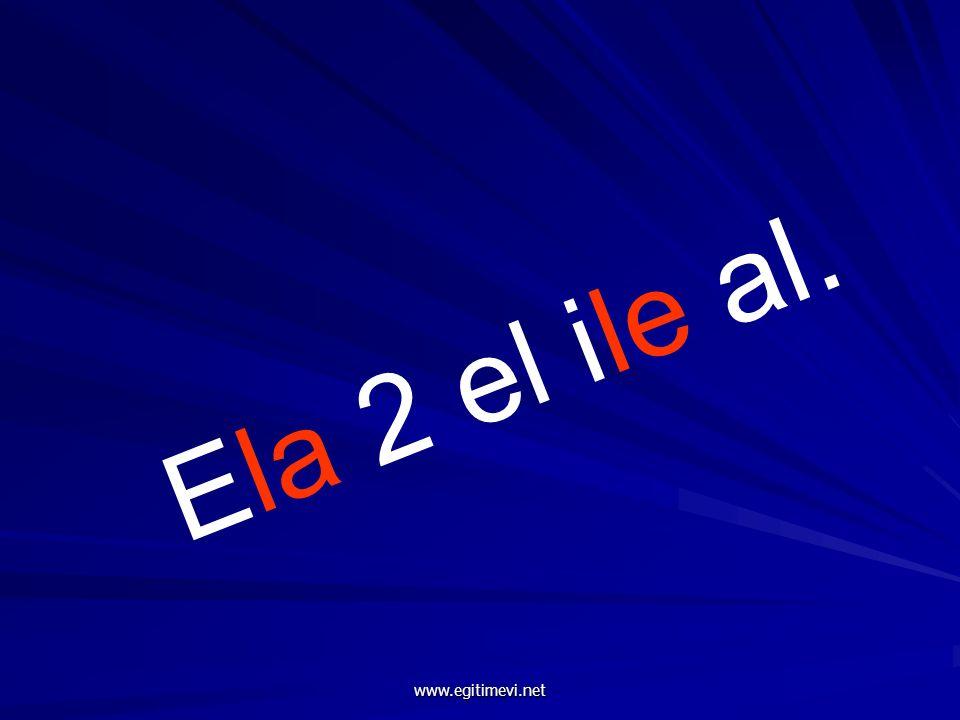 Ela 2 el ile al. www.egitimevi.net