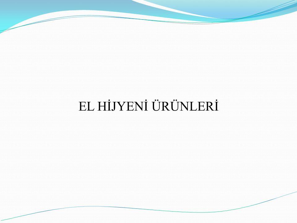 EL HİJYENİ ÜRÜNLERİ