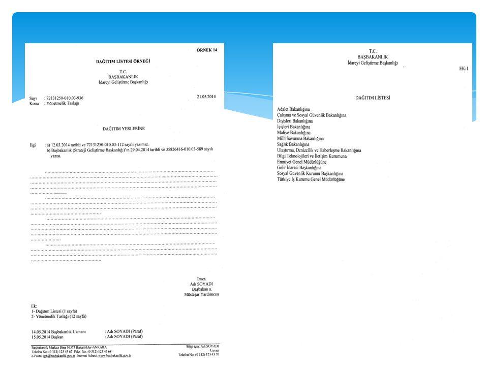 ÜÇÜNCÜ BÖLÜM BELGENİN BÖLÜMLERİ İlgi MADDE 13- (1) İlgi, belgenin bağlantılı olduğu diğer belge ya da belgelerin belirtildiği bölümdür.