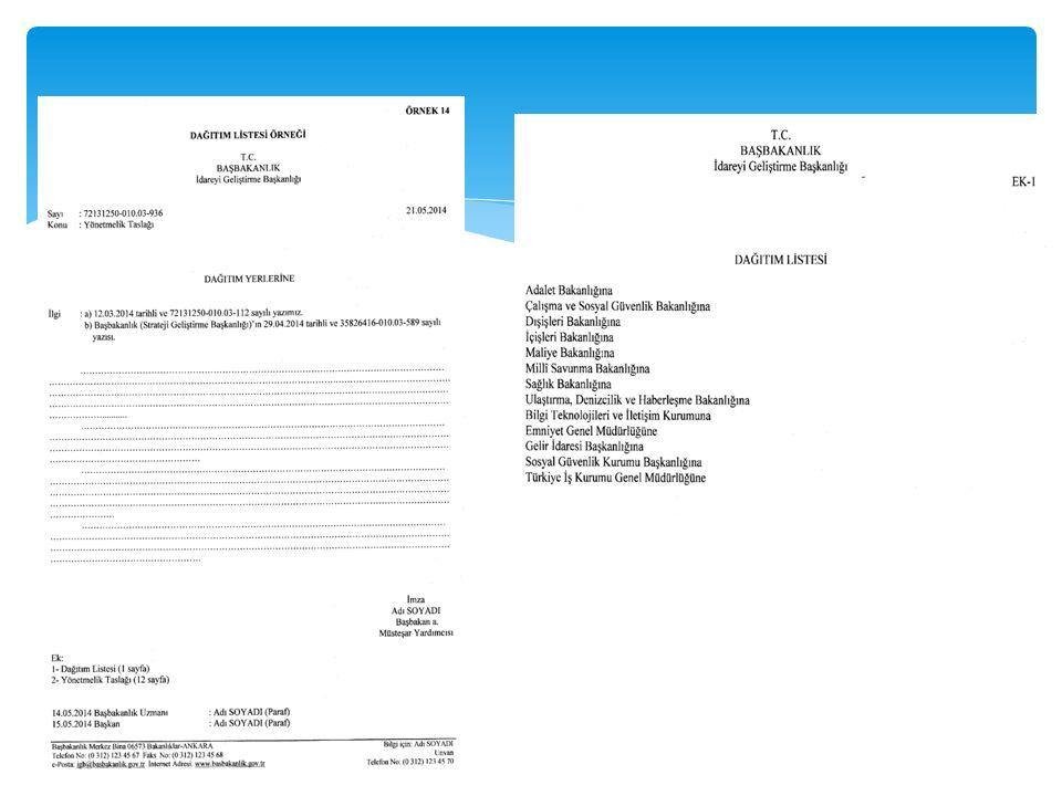 ÜÇÜNCÜ BÖLÜM BELGENİN BÖLÜMLERİ Olur MADDE 18- (1) Makam oluru alınan belgeler ilgili birim tarafından teklif edilir ve oluru alınan makam tarafından el yazısı ya da güvenli elektronik imza ile imzalanır.