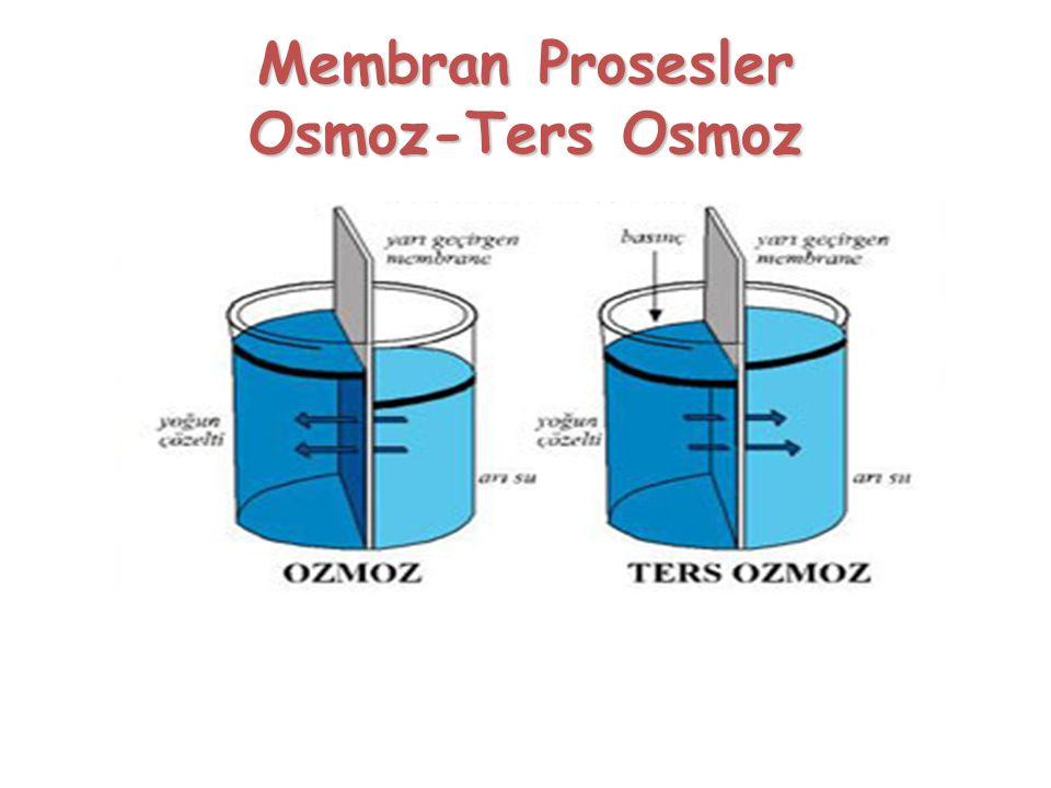 Membran Prosesler Osmoz-Ters Osmoz