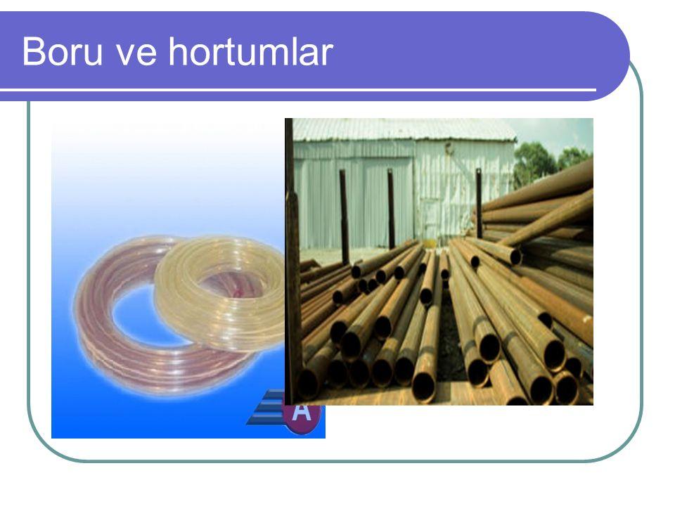Akış ayar ve basınç ayar ventilleri 1.Debinin ve basıncın ayarlanmasında kullanılırlar.