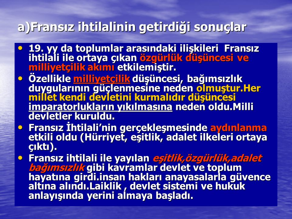 LOZAN BARIŞ ANTLAŞMASININ ÖNEMİ 1-Bir çok sınır problemi çözülerek Türkiye nin ve komşularının barış içinde yaşaması sağlanmıştır.