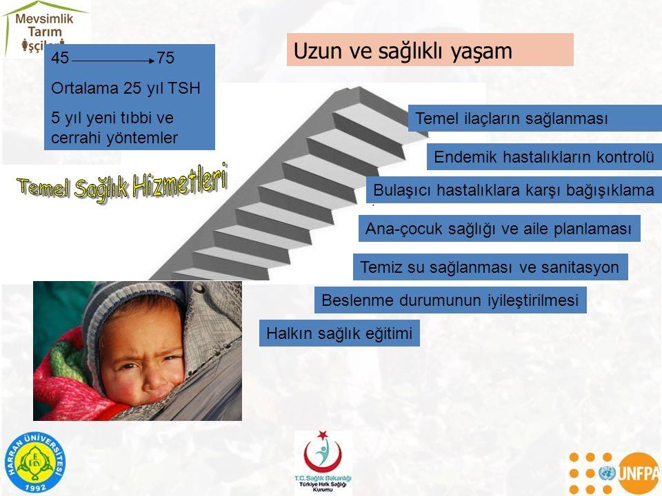 Bağışıklama Kemoproflaksi Beslenme Erken Tanı Aile Planlaması Kişisel Hijyen Sağlık eğitimi Koruyucu Sağlık Hizmetleri SAĞLIK HİZMETLERİ Esenlendirici (Rehabilitasyon ) Tedavi Edici Sağlık Hizmetleri 3.