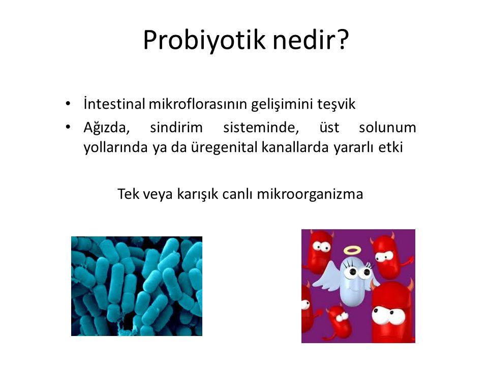 Probiyotik nedir.