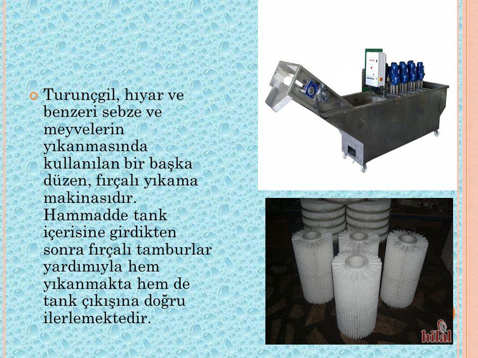 Kanatlı kesimhanelerinde kullanılan tüy yolma makinaları, ıslak koşullarda çalıştırıldığından püskürtülen basınçlı su ile yıkama işlemi de birlikte yapılmaktadır.tüy yolma makinaları,