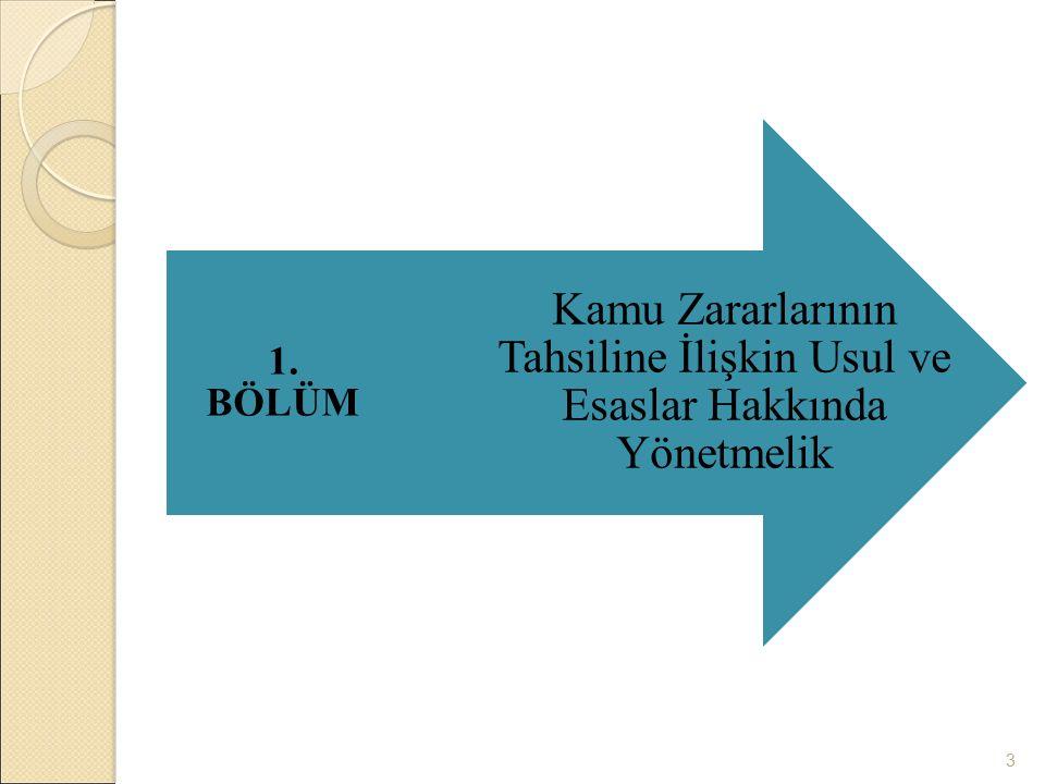 2003 - 2006 1050 sayılı Muhasebe-i Umumiye Kanunu 5018 sayılı Kamu Mali Yönetimi ve Kontrol Kanunu 1927 – 01.01.2005 4