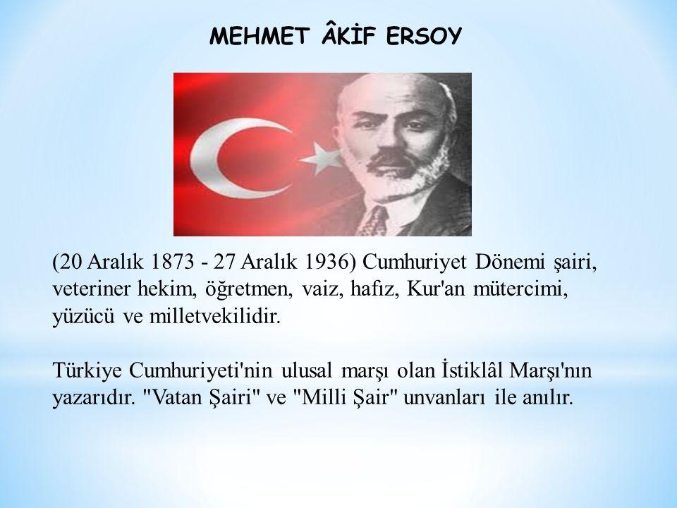 (20 Aralık 1873 - 27 Aralık 1936) Cumhuriyet Dönemi şairi, veteriner hekim, öğretmen, vaiz, hafız, Kur'an mütercimi, yüzücü ve milletvekilidir. Türkiy