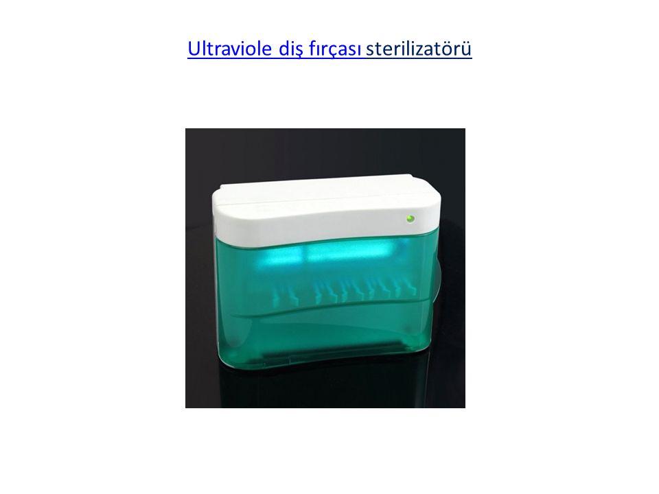 Ultraviole diş fırçası Ultraviole diş fırçası sterilizatörü