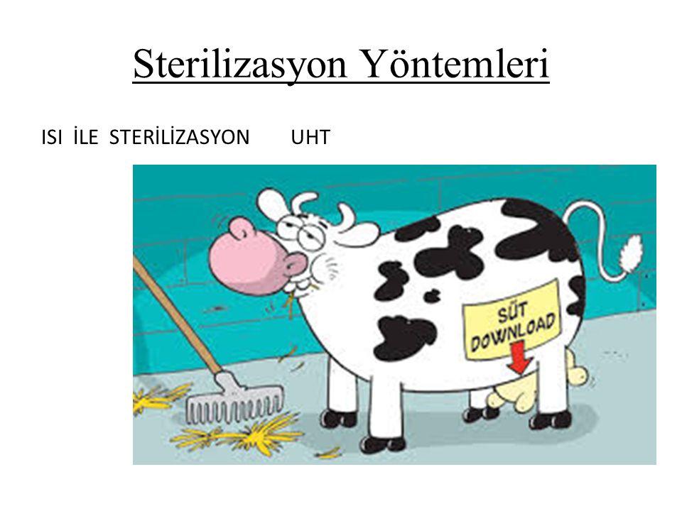 Sterilizasyon Yöntemleri ISI İLE STERİLİZASYON UHT